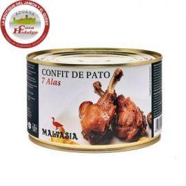Confit Delicias 7 alas de pato
