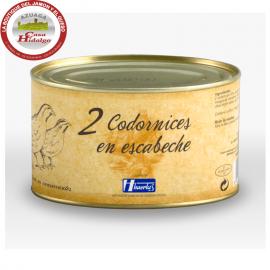Codornices en Escabeche Huertas Gourmet