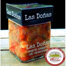 Pisto casero Las Doñas