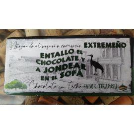 Chocolate Extremeño con Leche con sabor Tiramisu