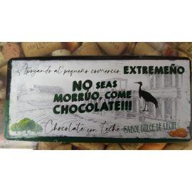 Chocolate Extremeño con Leche con sabor Dulce de Leche